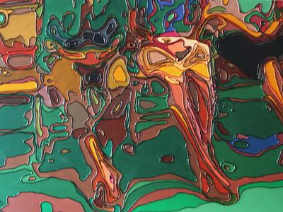 2012 En maar wachten illustration charles gilbert portrait