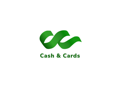 Cash&Cards -Logo Design for Mobile App Project mobile app uiuxdesign money app finance app logodesigns logodesigner logo design logotype logodaily logos vector typography logodesign ux branding logo appdesign uidesign ui branding design