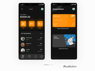 Money Payment Application visual design branding app app design user interface user experience ui ux uxdesign ui design