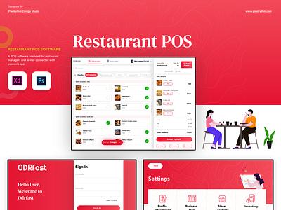 Restaurant POS Design web design visual design app design app user interface user experience ui uxdesign ux ui design