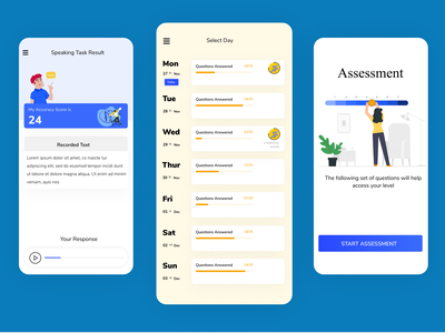 Education App web design ux visual design app app design user interface user experience ui uxdesign ui design