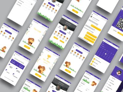 Game app design app design animation app ui design user interface ux ui user experience branding web design uxdesign