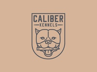 Caliber Kennels Logo