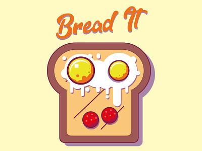 breadit illustration design vector