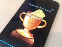 iPhone Rewards Screen - Strum Trophy