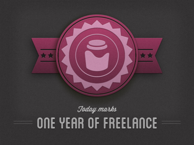 One Year of Freelance!