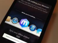 iPhone - Memoir Waiting Screen