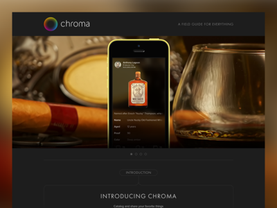 Landing Page For Chroma