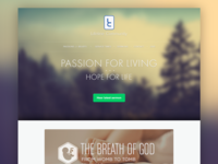 Website Redesign For My Church