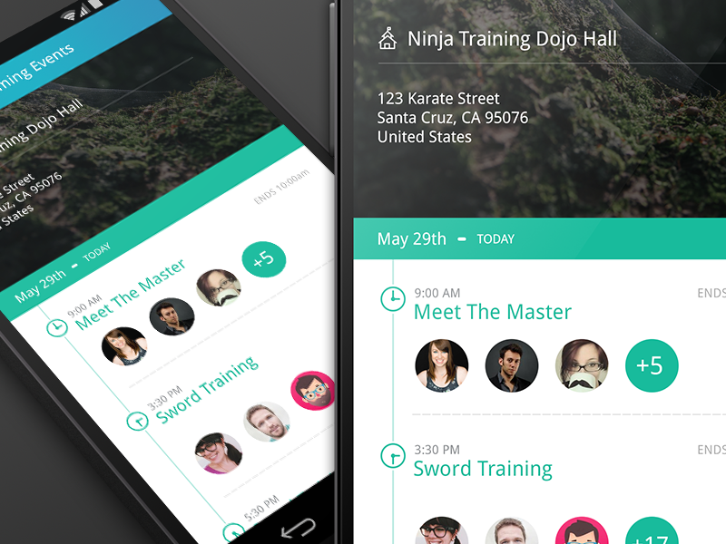 Android - Campus App android nexus 5 kitkat ui mobile google