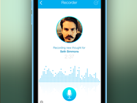 iPhone App - Thought Recorder