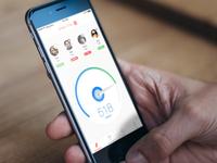 iPhone - Team Progress Interface