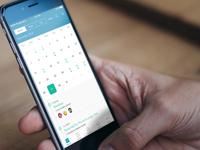 Calendar Revision For iOS App