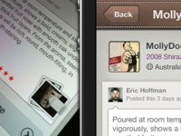 More Wine App for iPhone