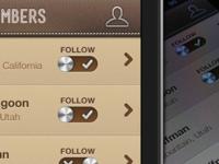 Wine App Member List