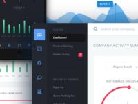 Mobile & Web Dashboard Views