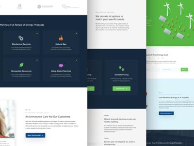 Marathon Energy Website Revamp