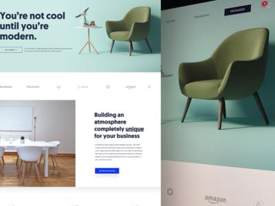 Agency Furniture Website Parody