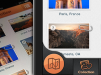 iPhone Traveling App