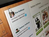 iPad Profile Interface