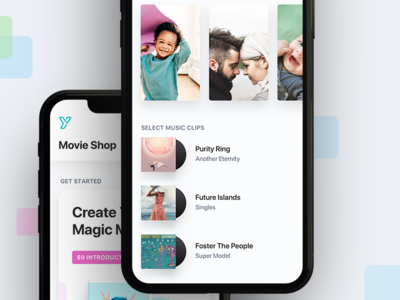 iOS App - Streaming Home Movies