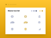 Icon Set For Eleanor Car App
