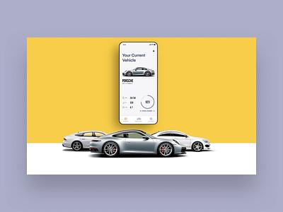 Eleanor Site Animated anima car app marketing landing page website ui ux animated