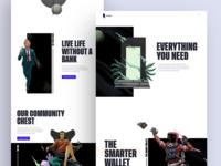 Token Card Marketing Site Rework