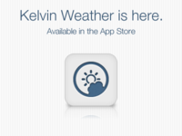 Kelvin Weather is LIVE