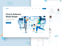 Breeze Church Software Marketing Site