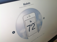 Kelvin Weather App for iPhone - Site