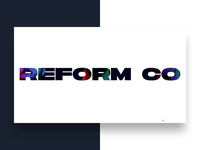 New Reform Collective Website is LIVE ux ui webdeisgn agency website website