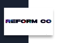 New Reform Collective Website is LIVE