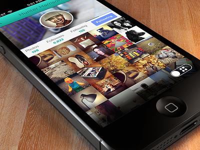 iPhone - App Profile iphone app profile photos