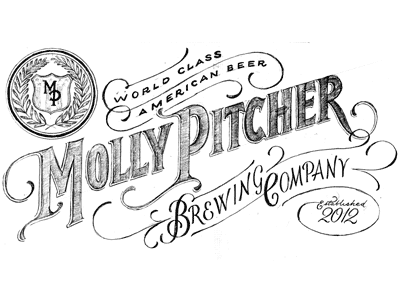 Molly Pitcher beer wheat old timey