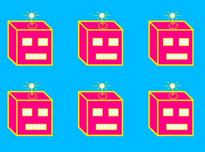 Neon Bot Assembly