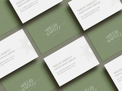 Shelby Bartelt Brand Design logo collateral branding design branding brand design brand design