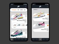 [Nike] Store App Prototype