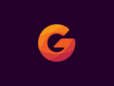 Personal logomark george g letter single letter logomark logo idea circle logo personal logo personal brand