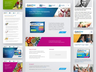 Completed vitamin microsite