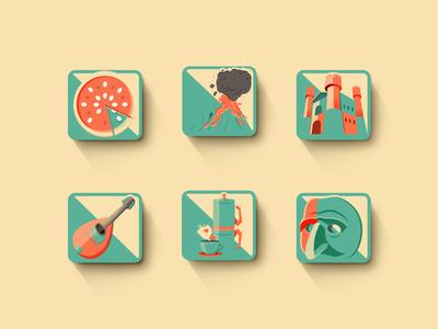 Naples icon kit