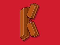 K is for KitKat