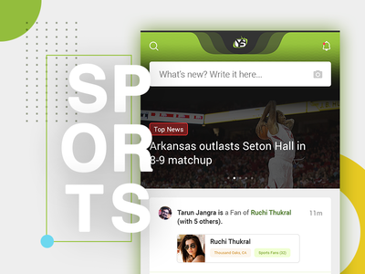 Yoursports: Mobile App Concept