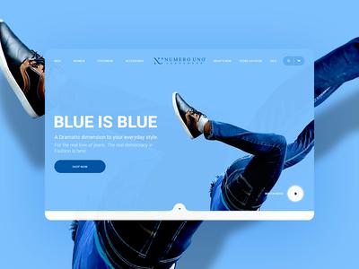 Numero Uno: Website Concept