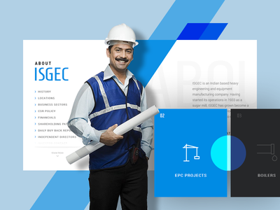 ISGEC: Concept for industrial business