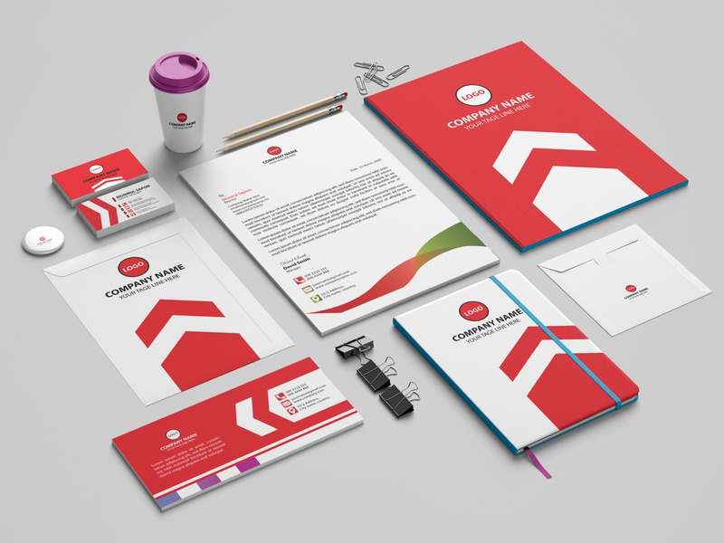 Brand Identity Design stationery design professional business card business card corporate flyer flyer branding print design branding design brand identity design
