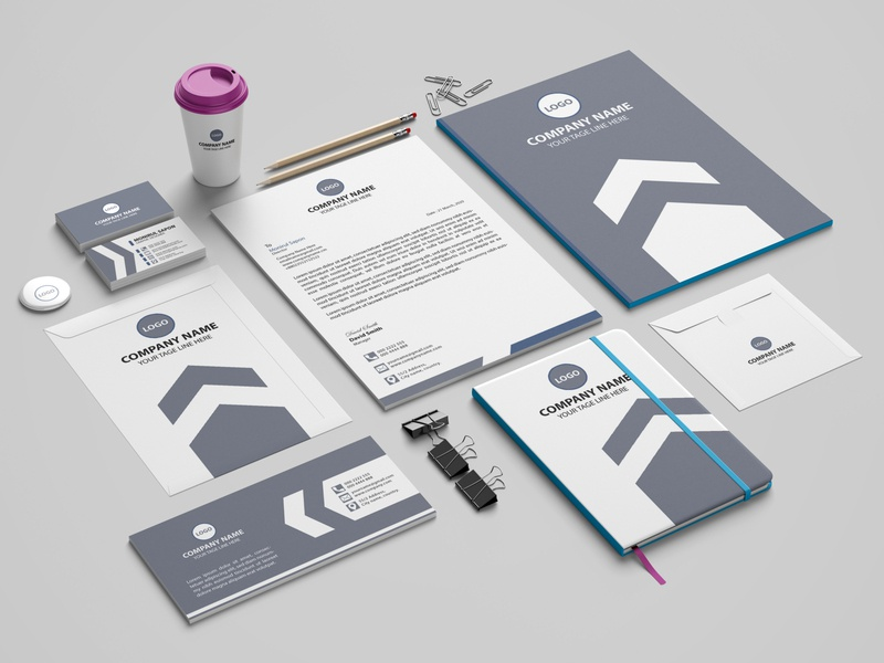 Stationery Design design stationery professional business card flyer business card corporate flyer print design branding design branding brand identity design