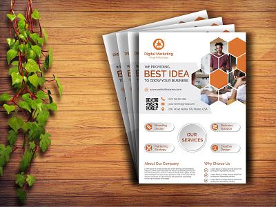 Flyer brand professional flyer white flyer creative flyer best flyer best design flyers flyer design business flyer flyer vector brand identity design print design corporate flyer best shot illustration branding design