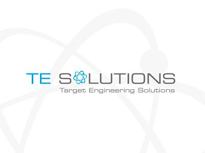 TE Solutions logo mark identity icon branding logo designer logo