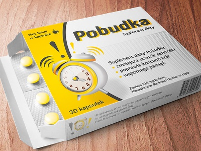Box Pobudka  product packing package pack branding box